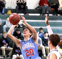 Wakefield 43 - Marshall 40 - January 2, 2018. In a tough game with rival Wakefield, Marshall JV falls 43-40 on Tuesday night.